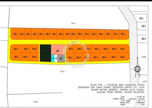 Lot Tanah Banglo Harga Molek Bare Jadi Land For Sale In Tanah