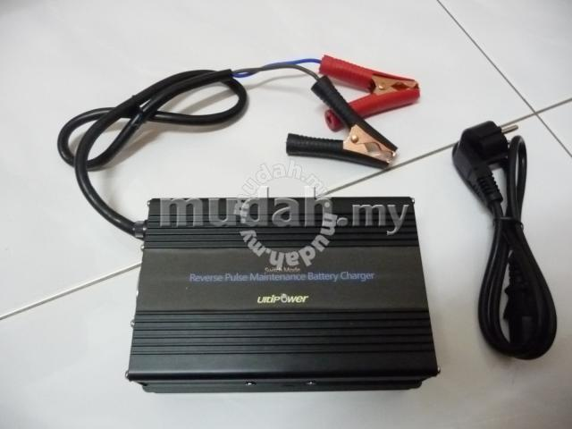 UltiPower 12V 15A 7 Stage Auto Battery Charger - Image