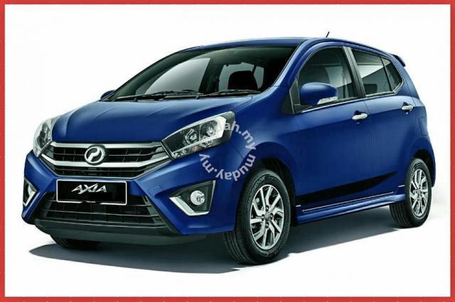 Perodua Axia Facelift 2019 - J Kosong w