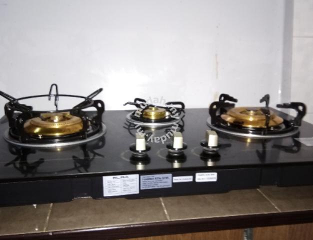 Dapur Gas Kaca Elba Home Liances Kitchen For In Sungai Petani Kedah