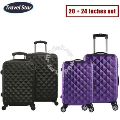 0044dd984 2 set of luggage trolly bag 12 - Bags & Wallets for sale in Others,  Terengganu