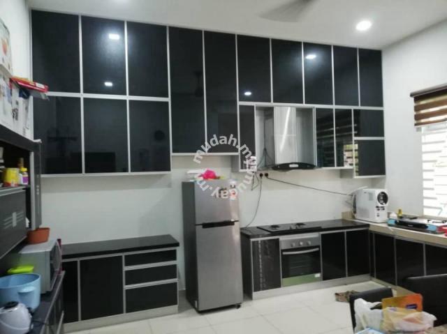 Kitchen Cabinet Aluminium Furniture Decoration For Sale In
