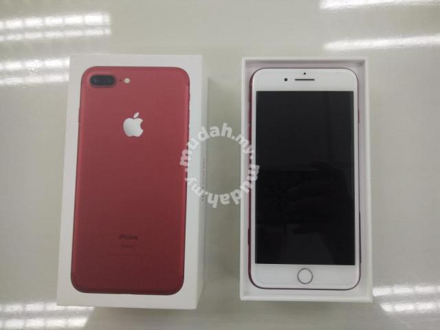 Apple iphone 7 Plus 128gb Red MYSet - Mobile Phones & Gadgets for sale in  Kuantan, Pahang