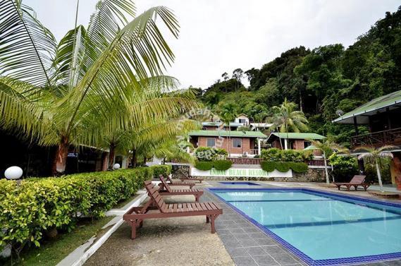 JOHOR Endau Beach Resort with island view Commercial Properties