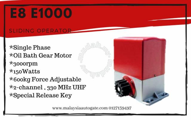 E8 E1000 Red & Grey Colour Autogate System - Home Appliances & Kitchen for  sale in Cheras, Selangor