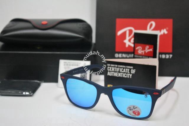 050b6fa915d7 Ray Ban Wayfarer Liteforce Ferrari Scuderia Blue - Watches ...