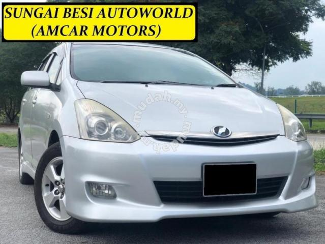 Toyota For Sale By Owner >> Toyota Wish 1 8 A 4 Disc Break Lady Owner Fullon Cars For Sale In Sungai Besi Kuala Lumpur