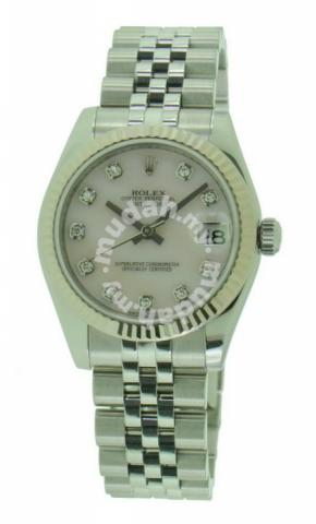 Rolex 178274 Pink Mop Diamond Dial Watches Fashion Accessories For Sale In Kuching Sarawak
