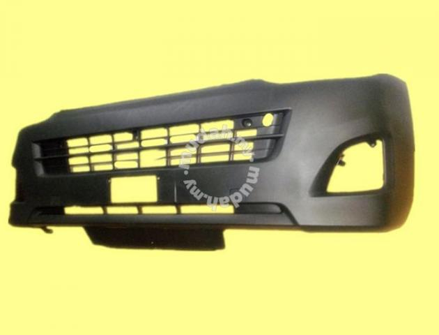 Toyota Hiace KDH200 2006 2010 Front Bumper Baru - Car Accessories & Parts  for sale in Kepong, Kuala Lumpur