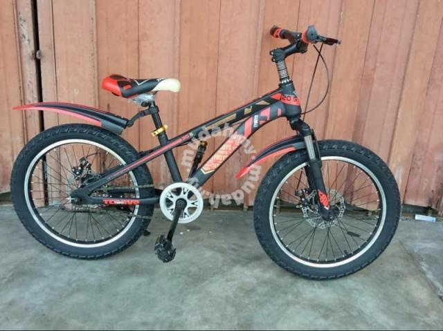 20 bmx bike with disc brake set 0725 - Sports & Outdoors for sale in  Selayang, Selangor