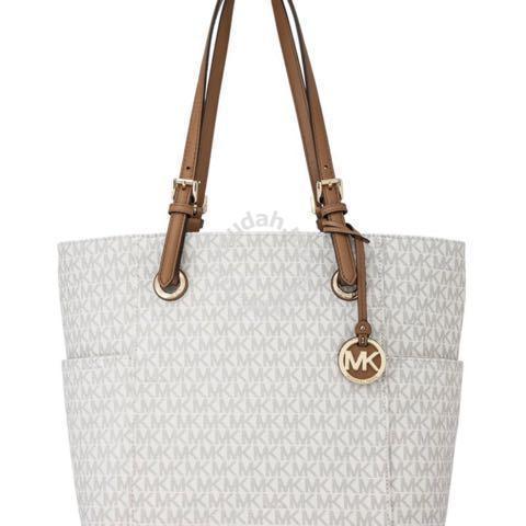 6c04646dc791 MK Micheal Kors woman jet Totes shoulder Handbag - Bags   Wallets ...