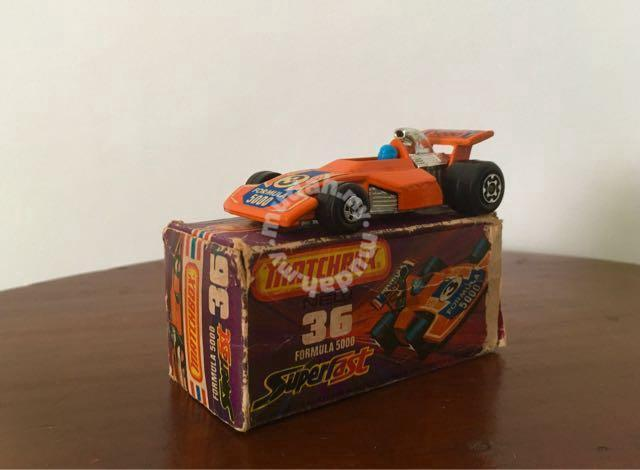 Vintage Rare 1975 F1 Matchbox Uk Diecast Hobby Collectibles For Sale In Gelugor Penang Mudah My Mobile