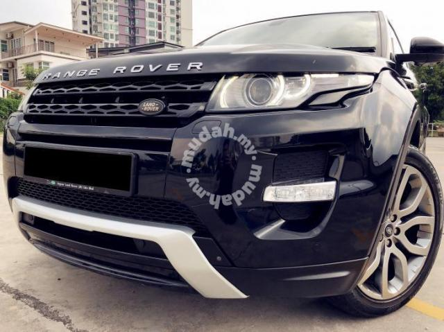 Land Rover Range Rover 2 0 Evoque 2 Years Warranty Cars For Sale