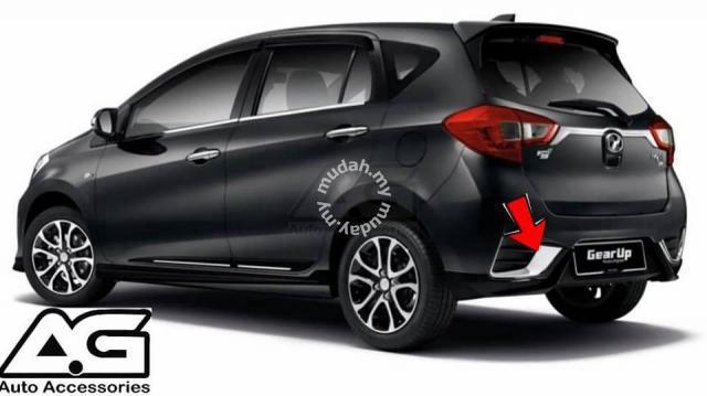 NEW MYVI 2018 OEM Rear Bumper Lower Chrome Ganish - Car Accessories & Parts  for sale in Kuching, Sarawak
