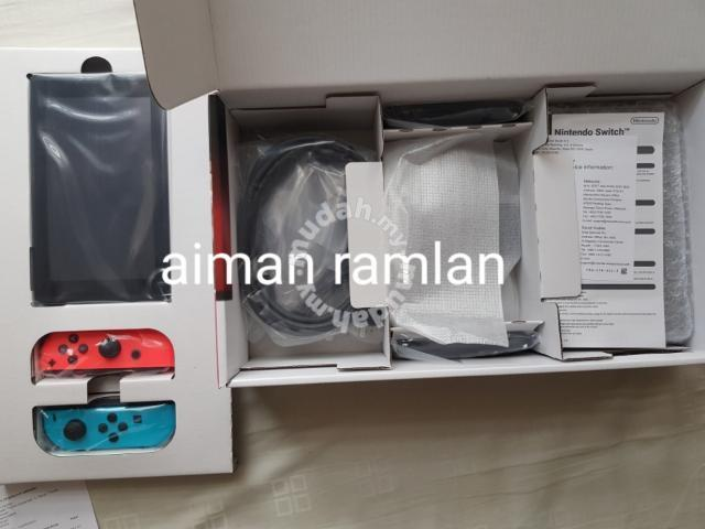 Brand New Nintendo Switch 1 Year MaxSoft Warranty - Games & Consoles for  sale in Ampang, Selangor