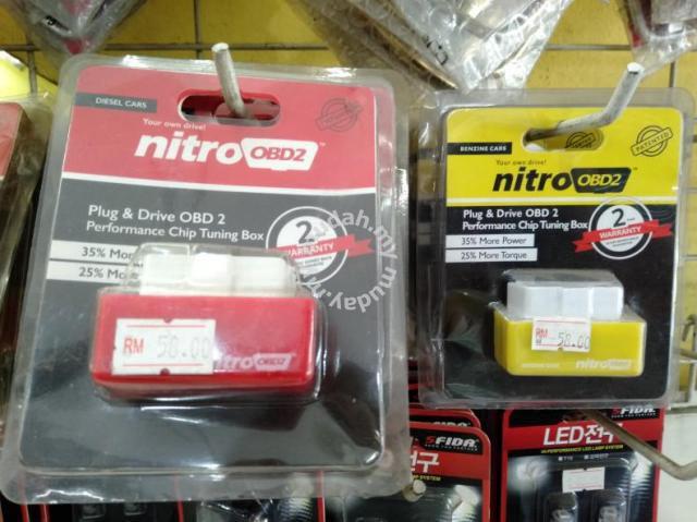 Nitro OBD2 red yellow sel Petro tuning box fuse - Car Accessories & on