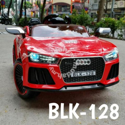 audi electric car kids ride on blk 128 hobby collectibles for sale in kl city kuala lumpur