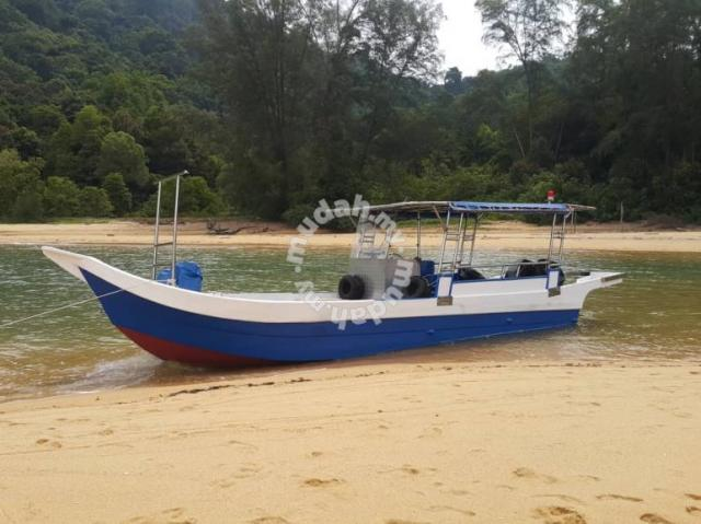 Boat with 2 Mercury Outboard 90 HP Engine - Commercial Vehicle & Boats for  sale in Kemaman, Terengganu