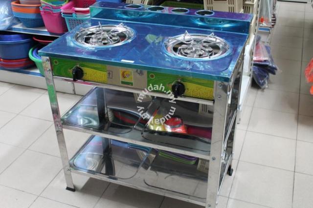 Dapur Gas Berdiri S Steel Stok Sedia Ada Home Liances Kitchen For In Skudai Johor