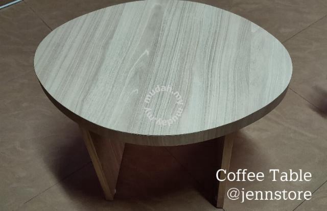 Oval Shape Coffee Table Handmade Furniture Decoration For Sale In Johor Bahru Johor Mudah My