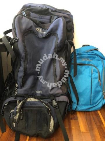 Trekking  Hiking and a Laptop Bag - Bags   Wallets for sale in Jalan ... 75d3d7200ed76