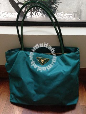 69b7e94a999c51 ... discount code for turquoise nylon prada tote bag bags wallets for sale  in petaling jaya selangor