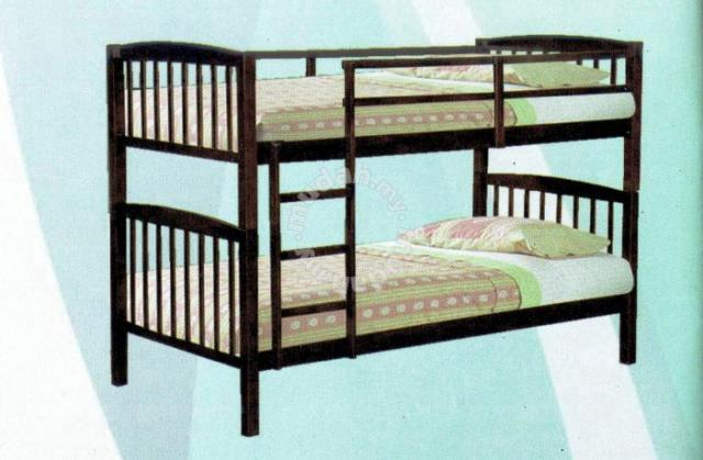 Solid Wood Double Decker Single Bed   Bed U0026 Bath For Sale In Kuching,  Sarawak