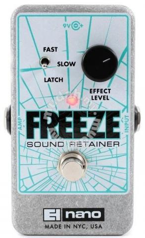 Electro-Harmonix Freeze Sound Retainer Pedal - Music