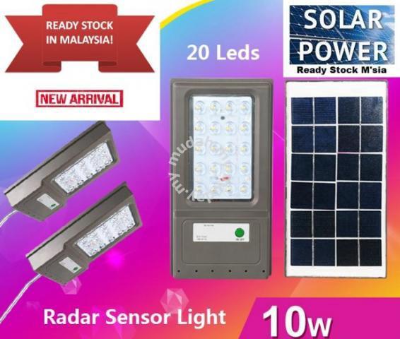 20LED Solar LED Radar Sensor Light IP65 Waterproof - Garden Items for sale  in Kulai, Johor