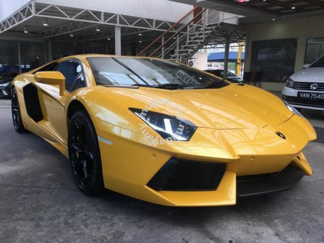2012 Lamborghini Aventador 6 5 Lp 700 4 A Cars For Sale In
