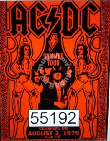 Poster Acdc Band Logo 55192