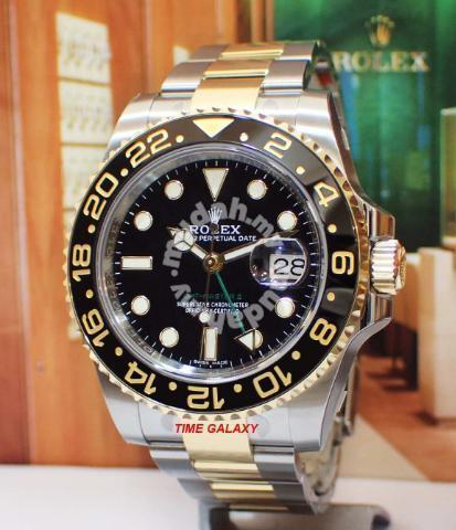 Brand New Rolex Gmt Master Ii Half Gold Black Dial Watches Fashion Accessories For Sale In Others Kuala Lumpur