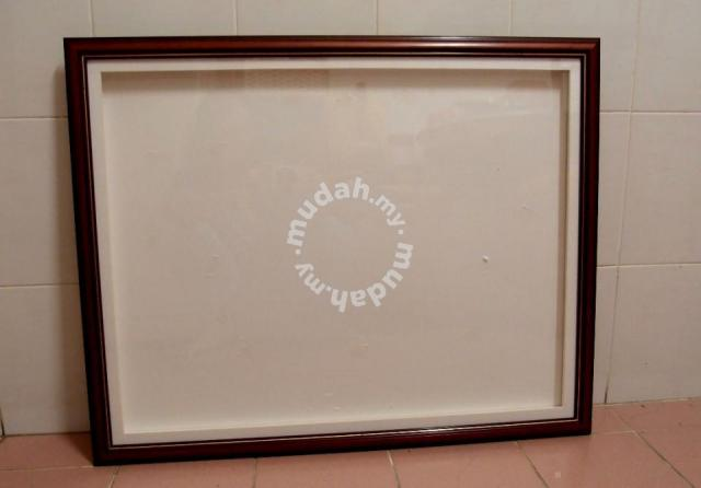 3-D Wood Recessed Picture Frame 30 x 24 inch (New) - Furniture ...