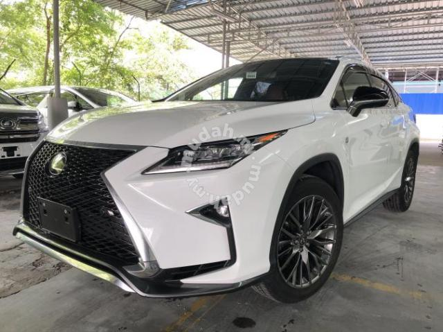 2016 Lexus Rx200 2 0 F Sport A Rx 200 Nx Cars For Sale In