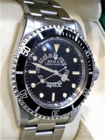 Vintage Rolex 5513 Sub No Date Automatic , Watches \u0026 Fashion Accessories  for sale in Petaling Jaya, Selangor