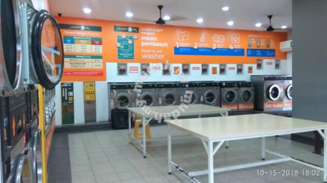 Self Service Coin Laundry for Sale Laundryhub - Business for Sale for sale  in Ampang, Selangor