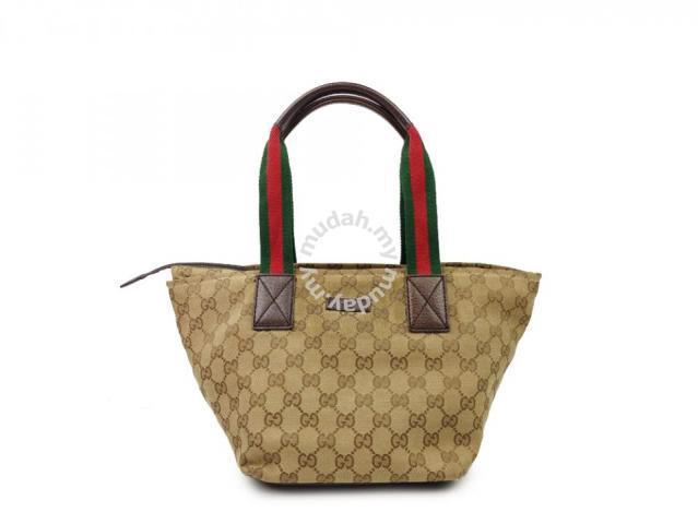 5b5e390a7ca Gucci GG Canvas Trapezoidal Tote - Bags   Wallets for sale in Sri ...