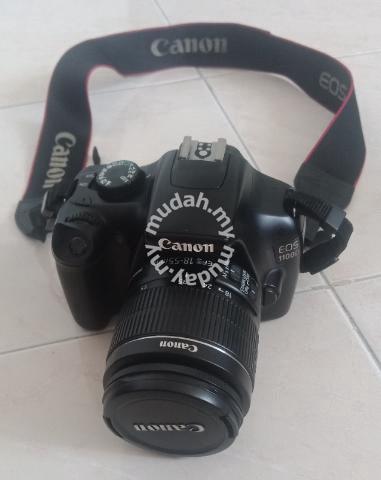 Canon EOS 1100D DSLR Camera + Lens EFS 55 - Cameras