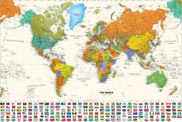 Poster world map n 3 hobby collectibles for sale in bukit poster world map n 3 hobby collectibles for sale in bukit bintang kuala lumpur gumiabroncs Images