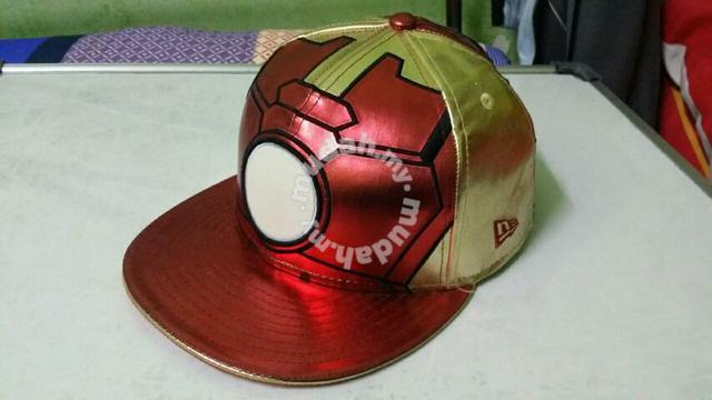 5afd2c1e743 New era cap iron man marvel.size 7 3 8 - Watches   Fashion Accessories for  sale in Banting