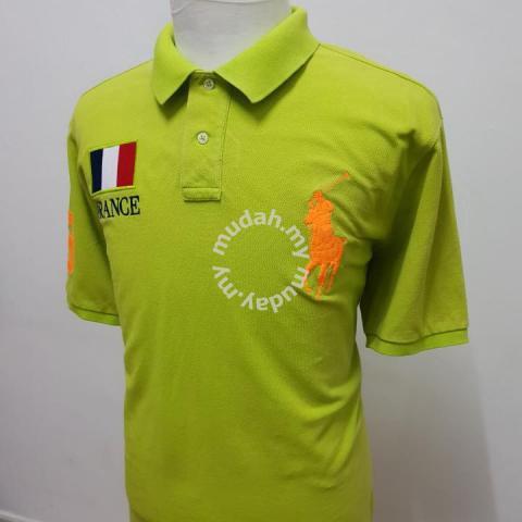 70c3ca5a28d Polo Ralph Lauren France Orange Big Pony Size XXL - Clothes for ...