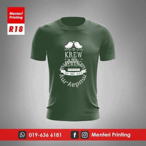 Tshirt Baju Rewang Krew Kahwin Cetak R18 - Clothes for sale in Kuala  Terengganu e6dd3cd69e