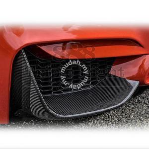 Bmw F32 F30 M4 M3 Carbon fiber front splitter - Car Accessories & Parts for  sale in Pandan Indah, Kuala Lumpur
