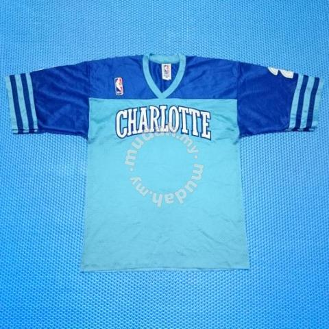 fd48eb0065b2 Vintage Spalding NBA Charlotte Hornets Jersey - Clothes for sale in ...