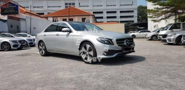 Pre Registered 2017 Mercedes Benz E250 AVANTGARDE   Cars For Sale In  Georgetown, Penang