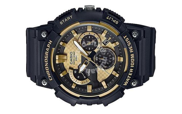 6745775c965 Casio Men Chronograph Rubber Watch MCW-200H-9A - Watches ...
