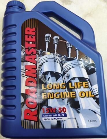 Engine oil 15w50 make in Australia - Car Accessories & Parts for sale in  Johor Bahru, Johor
