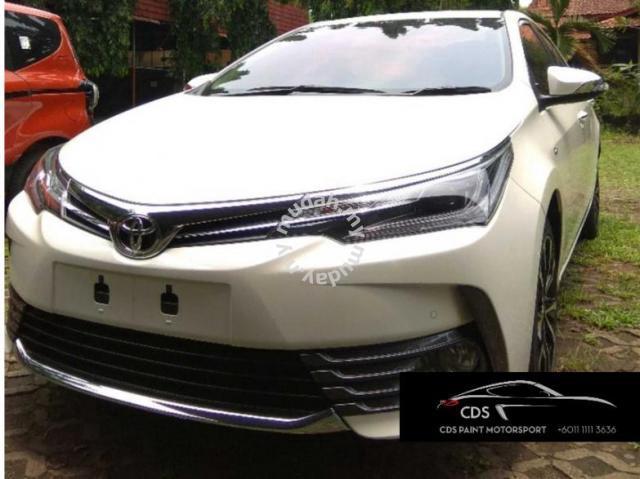Toyota Corolla Accessories >> Toyota Altis Conversion 2018 Facelift Model Car Accessories Parts