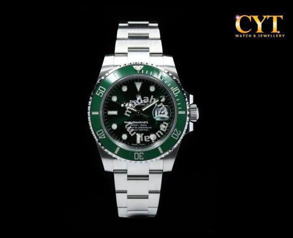 Rolex submariner date green hulk , Watches \u0026 Fashion Accessories for sale  in KL City, Kuala Lumpur