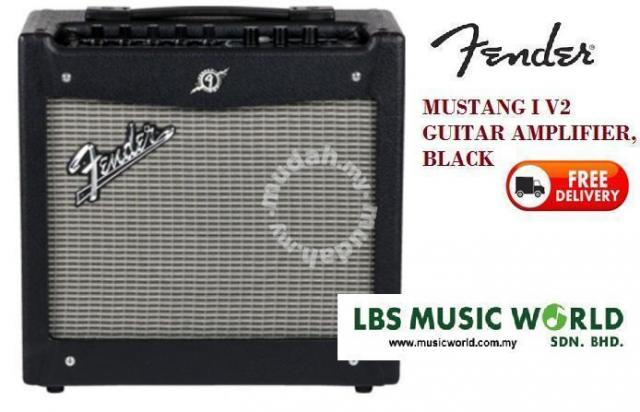 Fender Mustang 1 V2 >> Fender Mustang 1v2 Guitar Amplifier Music Instruments For Sale In